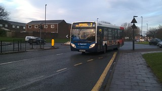 Stagecoach North East 39717 Corporate livery on service 7