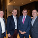 Aidan Quirke, John Ryan, Frankie Whelehan and Alan Murphy, King's Laundry at the IHF conference in Kilkenny.
