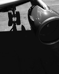 Turbine on my mind. _____ ____ ___ __ _ #justgoshoot #allshots #uncalculated #igersoftheday #shotaward #ig_masterpiece #hypelife #tonesbox #tonekillers #fatalframes #urbanromantix #ig_color #main_vision #passionpassport #stayandwonder #citykillerz #stayan (ADaveInTheLife) Tags: instagramapp square squareformat iphoneography uploaded:by=instagram plane travel contrast shadows airport iphone cph copenhagen denmark dkk bnw engine motor air