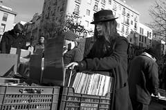 Searching for gems (Julián del Nogal) Tags: streetphotography vinyl vinyls fleamarket rastro madrid people urban streetmarket