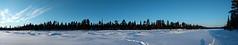 Frozen river (ruben garrido lopez) Tags: lapland laponia suecia swedishlapland laponiasueca nieve snow winter cold kiruna kurravaara cottage sweden circulopolarartico artico frozenriver