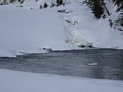 Bow Falls Banff (paulstead2) Tags: snowscenes winter bowriver banffnationalpark alberta big3 banff canada rockies bowfall
