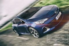 Opel Astra OPC (L Carroll) Tags: road beach car speed gear next astra opel vauxhall the opc automotivephotography