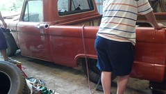 '66 Ford F100 Short Bed (rodzautocustoms) Tags: ford car truck pickup f100 restoration restomod shortbed 66fordf100