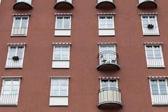 Individuality (Stefan Giese) Tags: window sweden stockholm balcony balkon fenster schweden skandinavien haus panasonic scandinavia gebäude fassade häuser fz1000