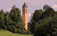 Time in a Bubble (Vivie327864) Tags: belltower fisheye campanile