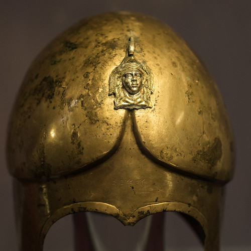 Bronze helmet from the Tomb of Seuthes III, 3