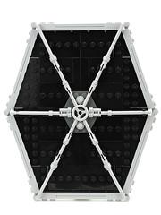 WIP: TIE Fighter (de-marco) Tags: starwars fighter lego tie wip latvia latvija latlug