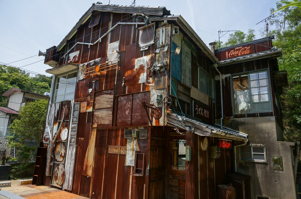 Những ngôi nhà gỗ trong dự án nhà nghệ thuật Honmura