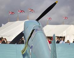 Spitfire (Bernie Condon) Tags: fighter military spit ww2 spitfire southampton goodwood raf warplane vickers revival battleofbritain woolston supermarine 2015 rjmitchell fightercommand