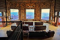 Grand View (Ernie Fischhofer) Tags: trip travel windows nikon view grandcanyon motorbike handheld northrim motorbiketrip d700