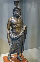 A Bronze sculpture of the dynastic god Serapis Roman Egypt 2nd century CE (mharrsch) Tags: bronze ancient worship god roman religion egypt maryland baltimore myth deity waltersartmuseum serapis 2ndcenturyce mharrsch