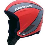 スキー競技用ヘルメットの写真
