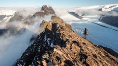 The Valleys of Fog and Ice (blue polaris) Tags: park travel mountain landscape iceland hiking hike glacier national skaftafell vatnajökull skaftafellsjökull kristínartindar kristinartindar skaftafellsjokull morsajokull vatnajökulsþjóðgarður skarðatindur morsájökull skardatindur þorsteinshöfði