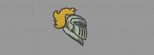 Knight - embroidery digitizing by Indian Digitizer - IndianDigitizer.com