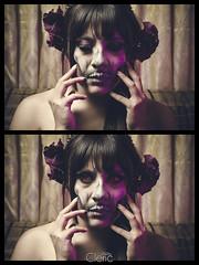 Black Zaphyr Witch (v_cleric) Tags: red portrait halloween dark eyes witch makeup sequence redeyes halloweenmakeup darkbeauty darkfashion