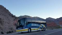 Ebmeyer charter at Zion National Park (ebmeyerchartpix) Tags: mountain buses utah roadtrip funday transportation zionnationalpark mci charterbus e4500 ebmeyer ebmeyercharter ebmeyerbuses ebmeyercharterbuses