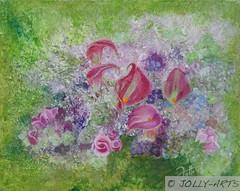 88 - Bouquet de fleurs
