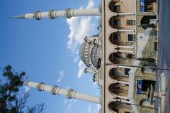 Konya - Haci Veys Zade Mosque 8 (Le Monde1) Tags: park lake turkey pond nikon islam mosque sultan turkish dervish anatolia moslem whirlingdervishes culturalpark kltr sinanpasha d7000 lemonde1 hasanpasha haciveyszade sultanahcaddesi fatmahtun