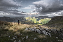 Pause for Thought (KRLandscapes) Tags: england lake mountains landscape grey countryside outdoor hiking district hills adventure backpacking valley cumbria fells vista hart fujifilm 1855 highstreet cloudscape patterdale dodd glenridding crag hartsop xt1