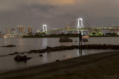 Fisherman at Tokyo Bay - Japan 2015