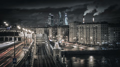 Смотровая РАН (rubalanceman) Tags: night moscow осень ночь nightcity москва ночнойгород смотровая ран