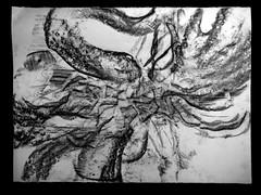 drawing graphcr gangbang56.5x76.5cm