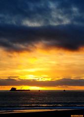 WinterFlashbacks102 (mcshots) Tags: ocean california sunset sea sky usa water clouds coast ship stock shoreline socal mooring delivery mcshots southbay chevron refinery tanker afloat oiltanker losangelescounty crudeoil