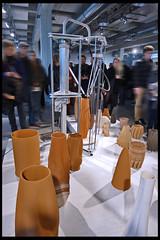 ddw 2015 - graduation show - 3d print keramiek 01 (Klaas5) Tags: holland netherlands dutch ceramics expo nederland eindhoven exhibition tentoonstelling whatif keramiek 2015 vormgeving dutchdesignweek contemporarydesign ddw 3dprinted picturebyklaasvermaas
