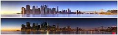 Manhattan, Brooklyn Bridge - Golden Hour and Blue Hour