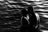 The Kiss Of Life (rosiebondi) Tags: love romance kiss couple blackandwhite water ocean sea street streetphotography