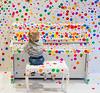 Polka Dots (Tore Thiis Fjeld) Tags: circle piano child play høvikodden oslo yayoikusama conseptualart art artwork norway square nikon