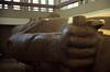 Ägypten 1999 (592) Kairo: Ramses II.-Kolossalstatue, Memphis