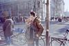 Sans titre (Guy Le Guiff) Tags: streetphotography street strada rue color argentique film paris cigar closer 365 analogue tulips unposed dino world urban stadium floating