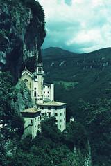 Santuario della Madonna Della Corona (>Ace<) Tags: kodakeliteii eb xpro cross process nikonf100