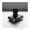 Leica MP Hammertone and Summicron-M 50mm v3 (jasoncremephotography) Tags: cameraporn film rolleiflex rolleinar xenotar 28f analog ilford hp5 selfdevelopment hc110 blackandwhite monochrome hammertone classic leica filmcamera filmisnotdead istillshootfilm dilutione