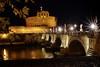 Nocturno de Chopin (Japo García) Tags: nocturno castillo roma puente santangelo angel edificio arquitectura monumentos visitar night turismo ruta noche farolas luz río tevere tiber ojos reflejo foto japo garcía