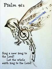 Psalm 96:1-2 Sing to the Lord a new song; sing to the Lord, all the earth. Sing to the Lord, praise his name; proclaim his salvation day after day. (Jesus Christ Is God) Tags: god love follow pray blessed prayers biblequotes bible jesus bibleverse jesusfreak jesuslovesyou christian christianquotes jesusisgod wordofgod church worship fellowship faith
