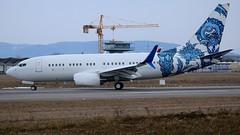 N737ER (Breitling Jet Team) Tags: n737er bbj one euroairport bsl mlh basel flughafen