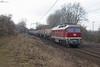 "132 158 ""LEG"" mit Kesselzug - 23.12.2016 - Ahlten (D) (Frederik L.) Tags: db bahn zug eisenbahn ludmilla diesel lokomotive lehrte bahnhof leg russe oldtimer"