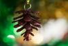 From Tree to Tree (Shastajak) Tags: pinecone glitter bokeh christmastree macro macromondays redux holidaybokeh