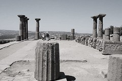 Assos temple (mdoughty68) Tags: assos temple ancient historical ruins behramkale turkey turkiye