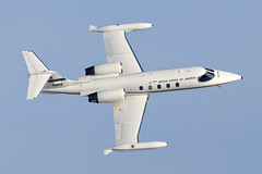 USAF C-21A Learjet 84-0109 (Vortex Photography - Duncan Monk) Tags: gates learjet c21 c21a turbo fan turbofan usaf united states air force europe usafe ramstein 76as 76 76th as airlift squadron germany 840109 transport passenger stores communication flight aircraft aviation topsdie top side blue sky sunshine profile february 2012 raf royal mildenhall egun mhz runway 29 40109
