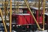 SBB Infrastruktur Traktor Tm  232 312 - 9 ( Umbau aus Tm IV 9682 - Hersteller SLM Nr. 5089 - Dieseltraktor Rangiertraktor ) im Winter mit Schnee beim SBB Bahntechnik Center Hägendorf (BTC)  im Kanton Solothurn der Schweiz (chrchr_75) Tags: albumzzz201701januar christoph hurni chriguhurni chrchr75 chriguhurnibluemailch januar 2017 albumbahnenderschweiz201716 albumbahnenderschweiz schweizer bahnen eisenbahn bahn schweiz suisse switzerland svizzera suissa swiss rangiertraktor traktor dieseltraktor sbb cff ffs 232 tm iv