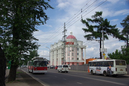 Irkutsk trolleybus ST-682G 242 ©  trolleway