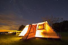 Camping in northumberland (JW.Andrews) Tags: camping northumberland outdoor stars bamburgh england uk tent shootingstar night holiday vacation