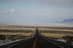 Long Valley (JasonCameron) Tags: road drive car mountain fog smog valley long empty deserted desert black asphault