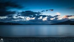 Heaven Below (sideris_bill) Tags: greece elefsina eleusis sea sky skyporn cloud clouds cloudporn seascape sunset le longexposure heaven nd1000 hoya movement