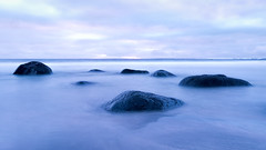 Silent blue (Tommy Høyland) Tags: view landscape nature water outdoor quiet horizen clouds le beach ocean long exposure level north relaxing soothing reflectiion seascape nobody blue sea white longexposure northsea fujifilm xt2 xf1024 fuji