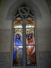 Teruel vidriera Mausoleo de los Amantes 04 (Rafael Gomez - http://micamara.es) Tags: teruel vidrieras iglesia san pedro vidriera mausoleo de los amantes